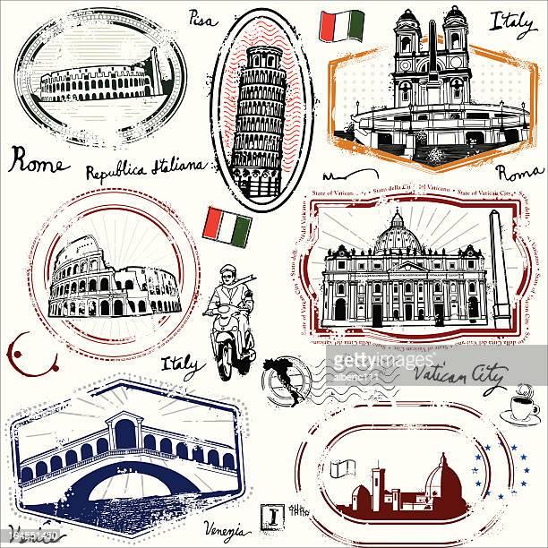 ilustrações, clipart, desenhos animados e ícones de chao repubblica italiana - itália