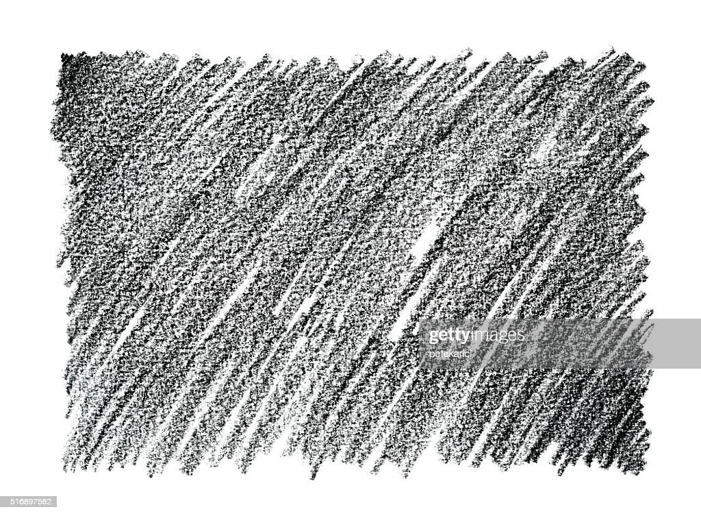 Charcoal pencil drawing abstract background stock illustration