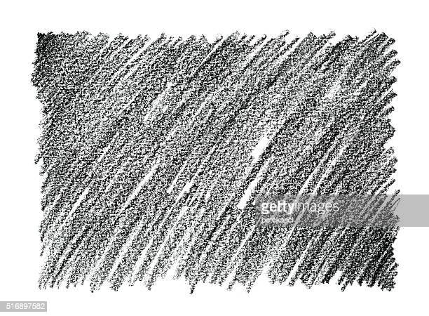 Charcoal Pencil Drawing Abstract Background