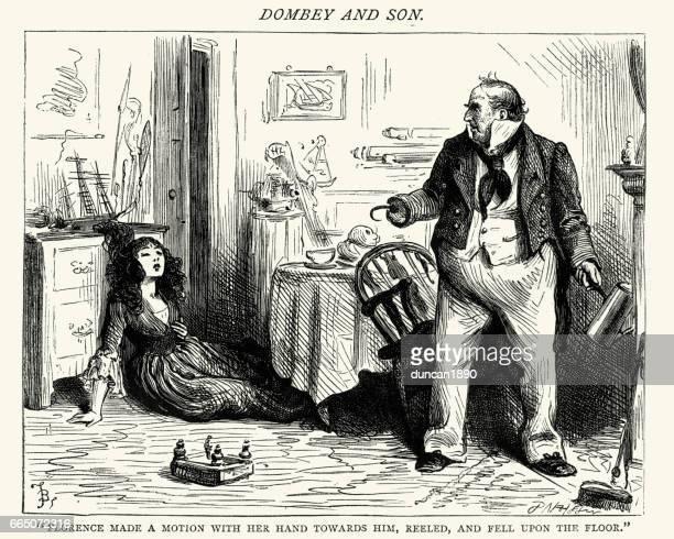 Charles Dickens - Dombey e hijo, cayeron de Florance