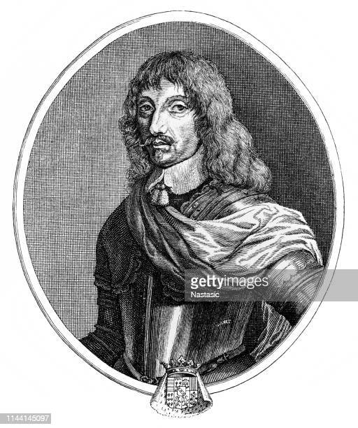charles iv, duke of lorraine - lorraine stock illustrations, clip art, cartoons, & icons