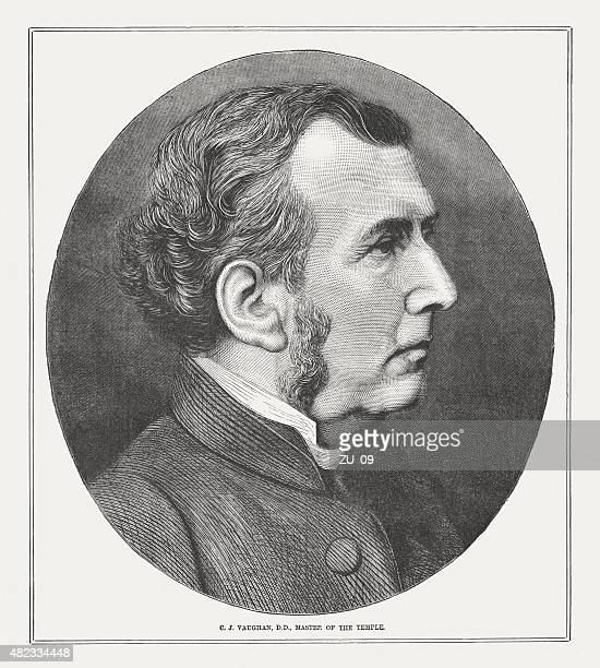 charles vaughan (1816 - 1897), published in 1873 - anglican stock illustrations