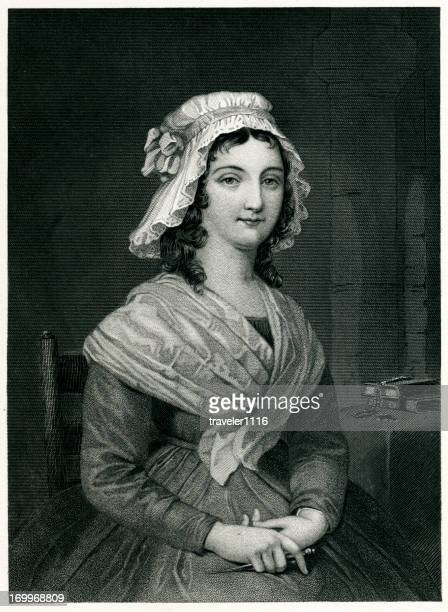 charlotte corday - bonnet stock illustrations, clip art, cartoons, & icons