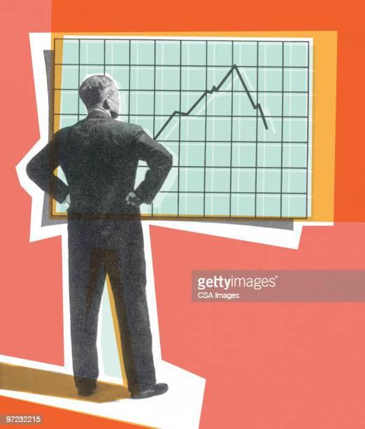 chart - presentation speech stock illustrations