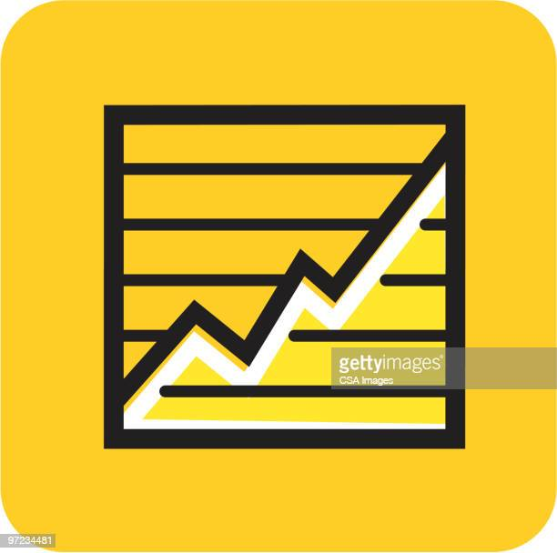 chart - growth stock illustrations