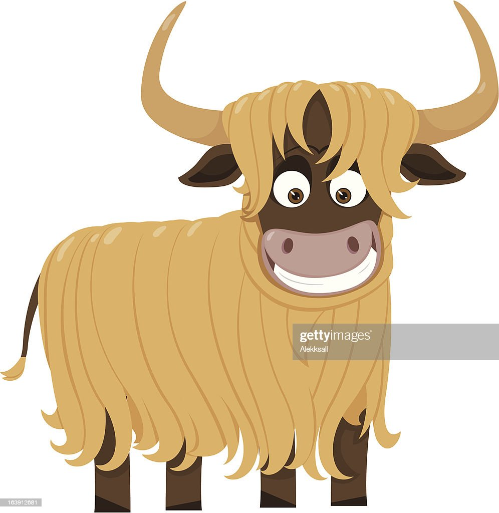 Cheerful yak