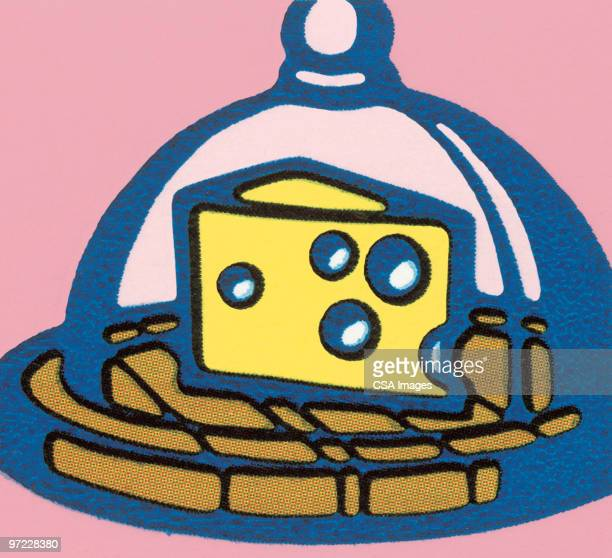 cheese - architectural dome stock illustrations, clip art, cartoons, & icons