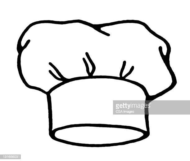ilustrações, clipart, desenhos animados e ícones de chef hat - chapéu de cozinheiro