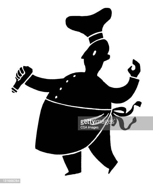chef - uniform stock illustrations