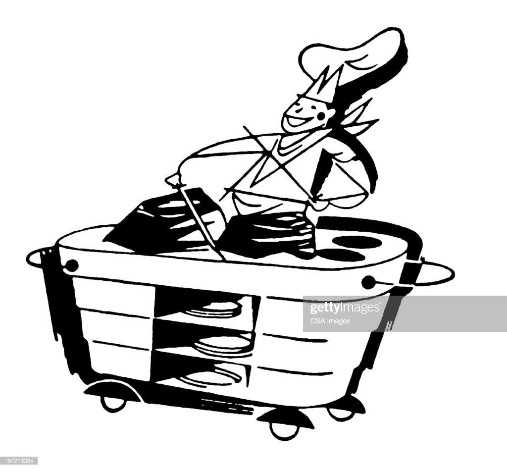 chef : stock illustration
