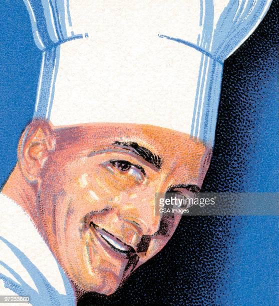 chef - chef stock illustrations