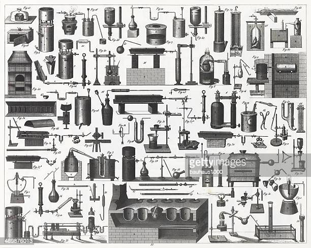 Chemical Equipment Engraving