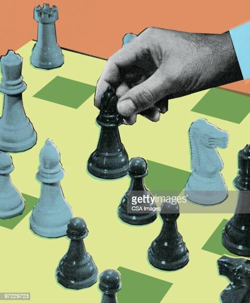 De ajedrez