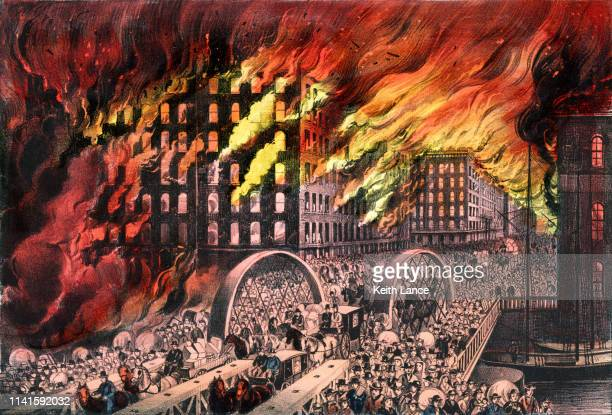 Chicago in Flames, 1871