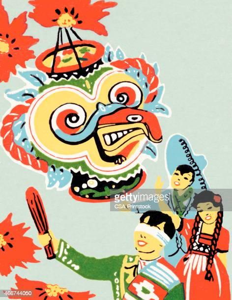 ilustrações, clipart, desenhos animados e ícones de crianças e um pinata - pinata