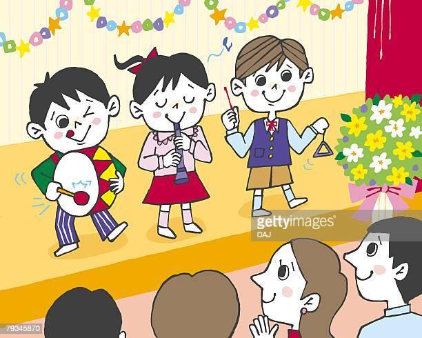 14 学芸会 Stock Illustrations Clip Art Cartoons Icons Getty Images