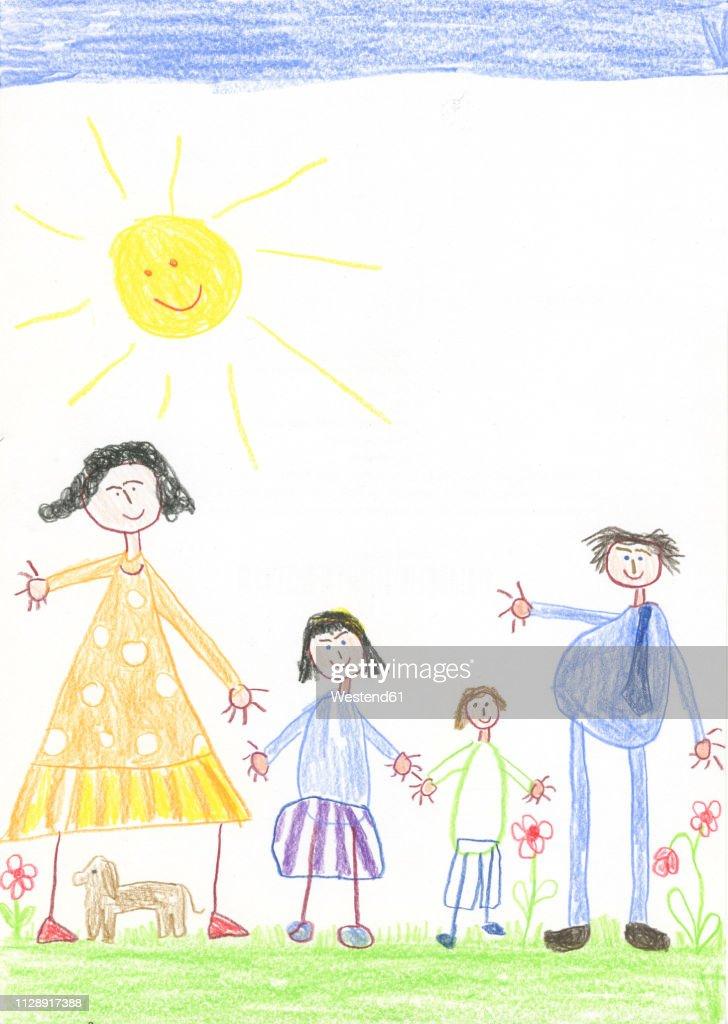 Children Garden Drawing Contoh Soal Pelajaran Puisi Dan Pidato