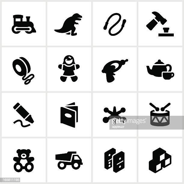 Brinquedos para crianças ícones
