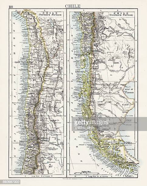 Chile map 1897