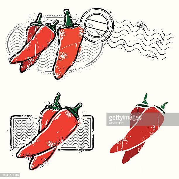 ilustrações de stock, clip art, desenhos animados e ícones de chilipeppers sobre a cena como daaang que é quente - pimenta