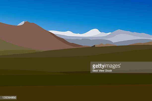 china scenics - 内陸部の岩柱点のイラスト素材/クリップアート素材/マンガ素材/アイコン素材