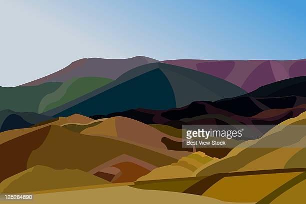 china scenics - pinnacle peak stock-grafiken, -clipart, -cartoons und -symbole