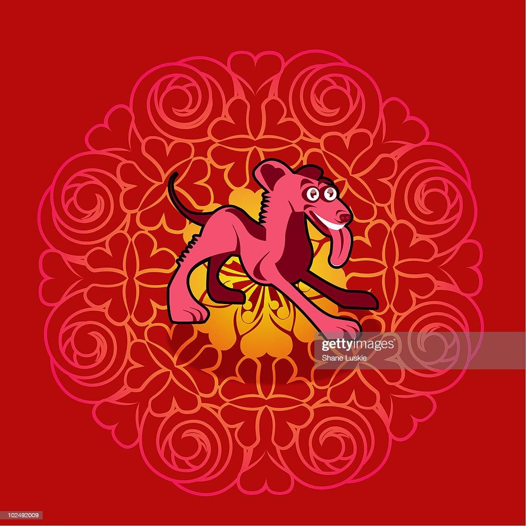Chinese new year symbol of dog stock illustration getty images chinese new year symbol of dog stock illustration buycottarizona Gallery