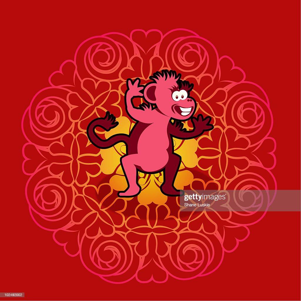 Chinese new year symbol of monkey stock illustration getty images chinese new year symbol of monkey stock illustration buycottarizona Gallery