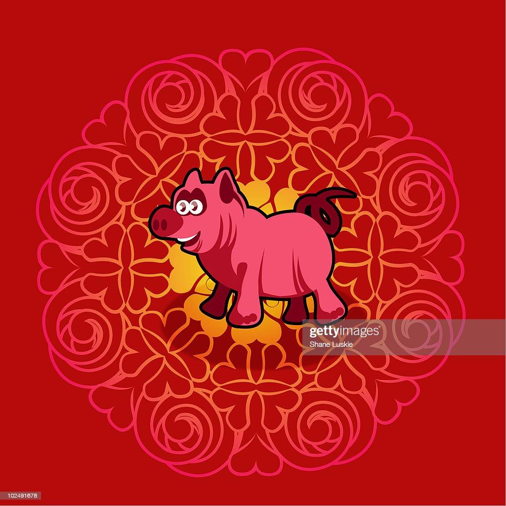Chinese new year symbol of pig stock illustration getty images chinese new year symbol of pig stock illustration buycottarizona Gallery