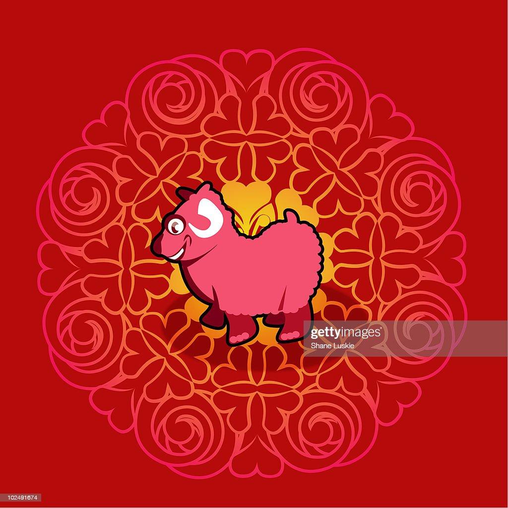 Chinese new year symbol of ram stock illustration getty images chinese new year symbol of ram stock illustration buycottarizona Gallery