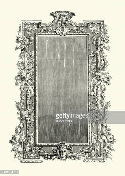 Chippendale frame 18th Century