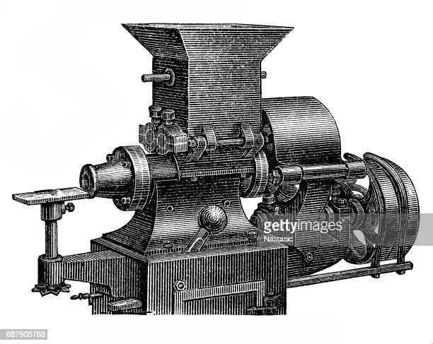 chocolate making machine ,venting machine - pastry dough stock illustrations, clip art, cartoons, & icons
