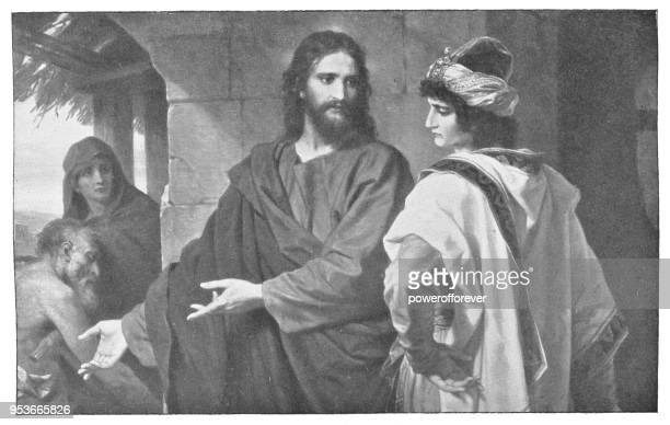 Christ and the Rich Young Ruler by Heinrich Hofmann - 19th Century