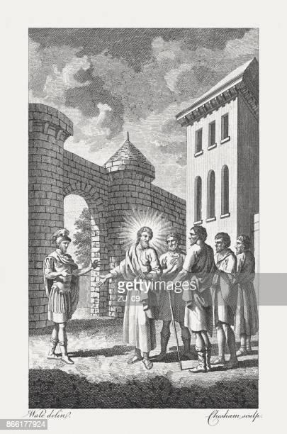 Christ healing the Centurion's Servant (Matthew, 8, 5-13), published 1774