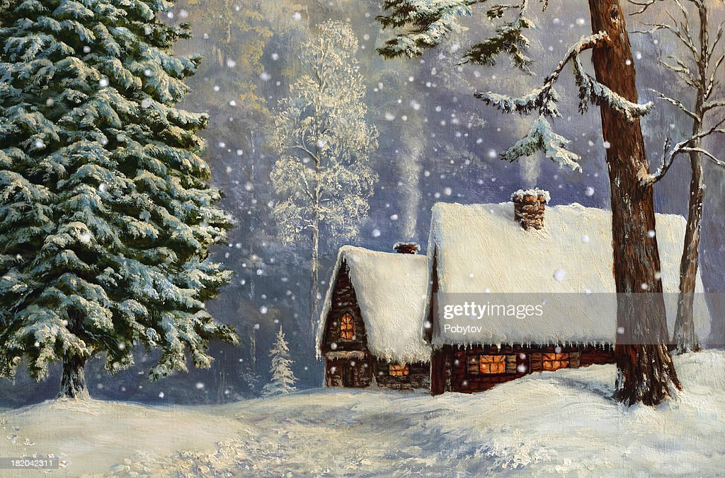 Christmas Fairyland : stock illustration