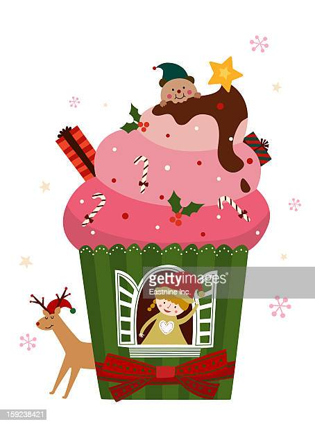 Christmas ice cream