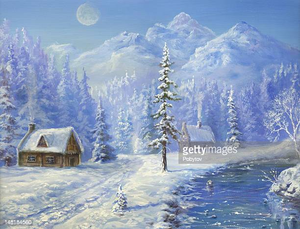 Christmas  in  Mountains