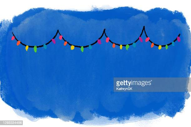 christmas lights background - kathrynsk stock illustrations