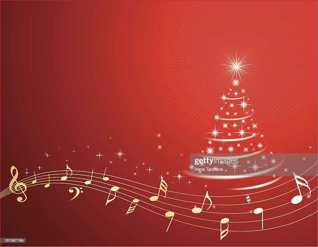 Christmas Music Background.Christmas Music Background High Res Vector Graphic Getty