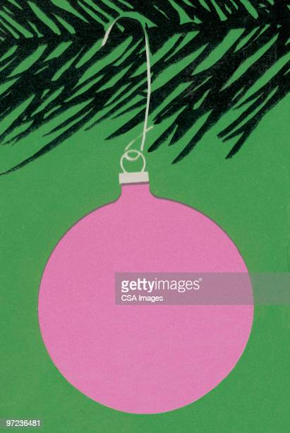 christmas ornament - old fashioned stock illustrations