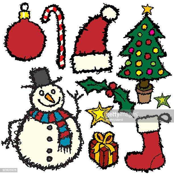 Christmas Sketches.World S Best Christmas Sketches Stock Pictures Photos And