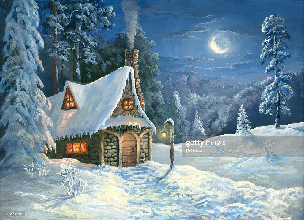 Christmas tale : stock illustration