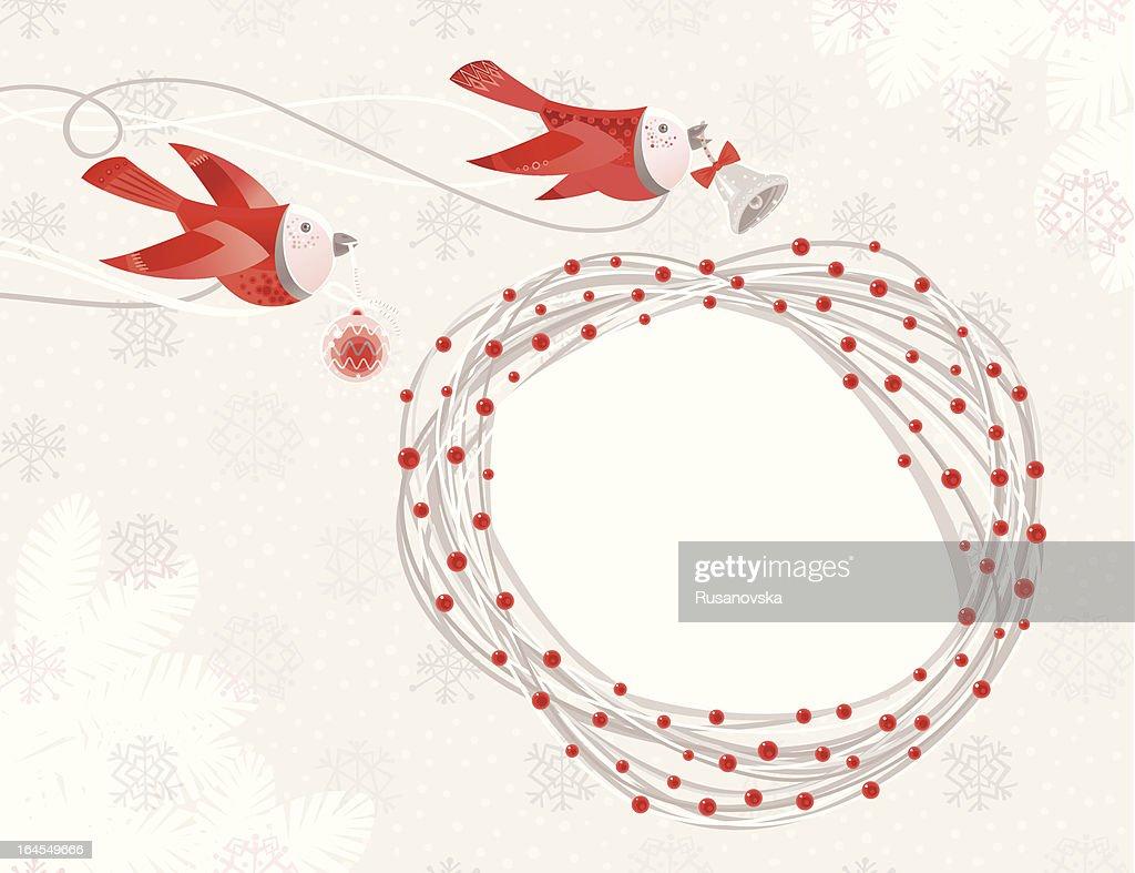 Christmas Time Birds