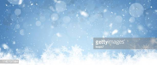christmas wide background - blizzard stock illustrations