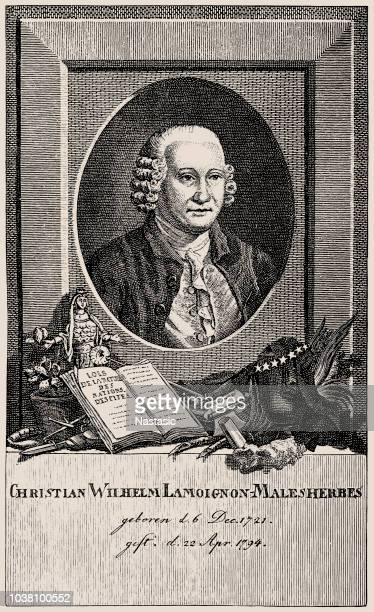 Chrétien-Guillaume De Lamoignon De Malesherbes, 1721-1794. French politician and lawyer . Defending lawyer of Louis XVI in 1792