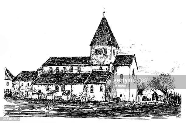 Iglesia de la isla de Reichenau, construida 984-996