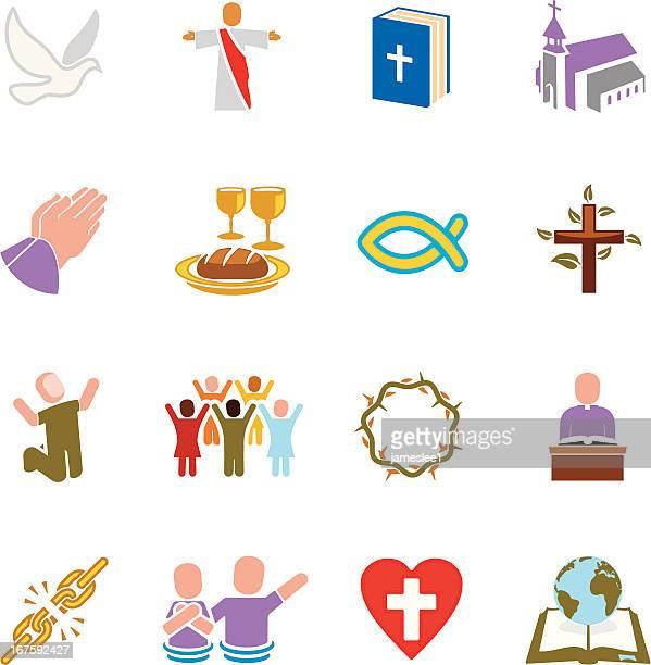 kirche symbole - taufe stock-grafiken, -clipart, -cartoons und -symbole