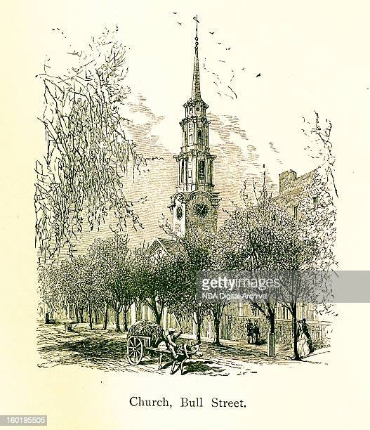 Church on Bull Street, Savannah