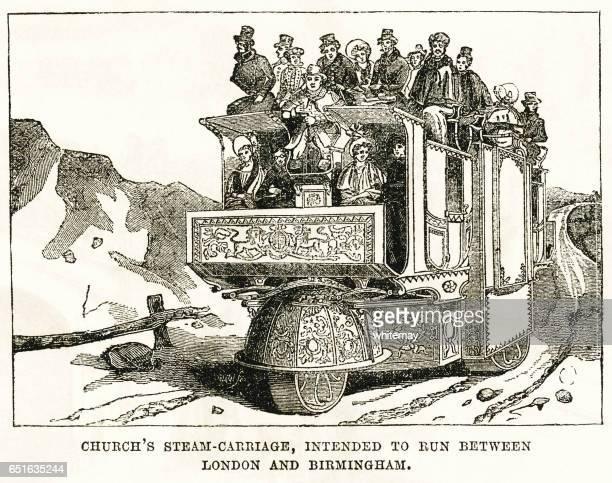 Church's Steam Carriage
