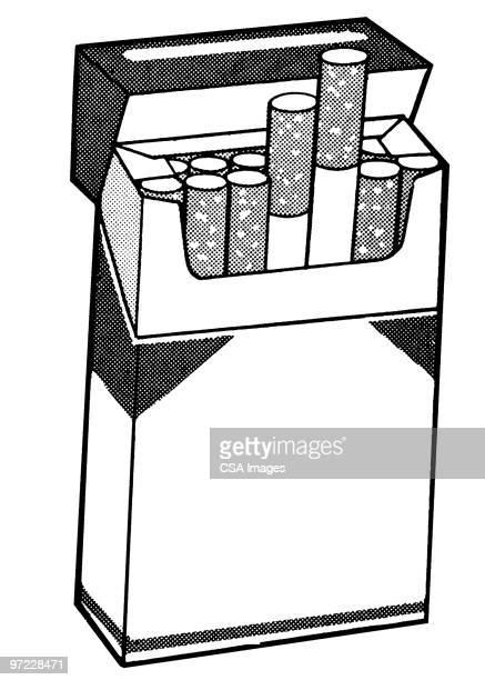 ilustraciones, imágenes clip art, dibujos animados e iconos de stock de cigarettes - cigarrillo
